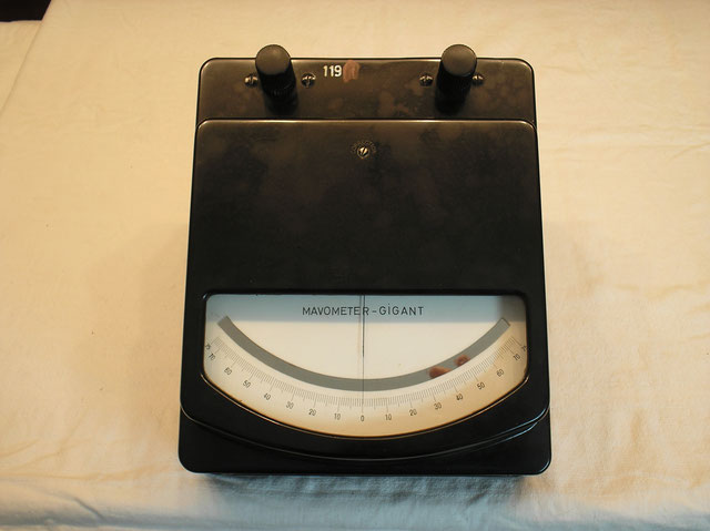 Universal Multimeter mit sep. Vor und Nebenwiderstände ab 150 mVolt bis 75 Amp.  Gleichstrom.