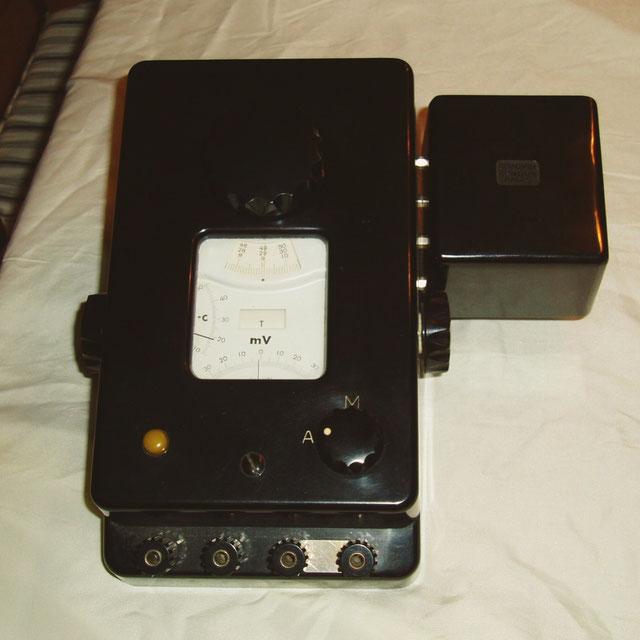 Chauvin & Arnoux Frankreich - Potensiometer Pyro Kompakt von 1950