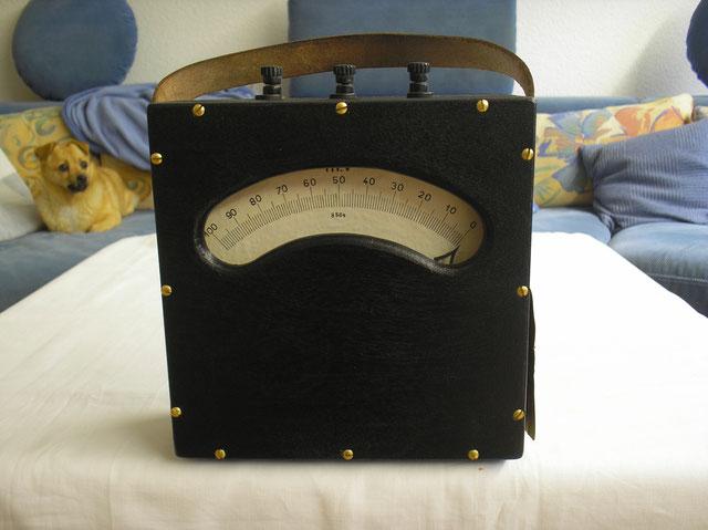 Einfaches Millivoltmeter bis 200 m Volt von 1901