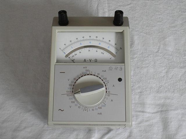 Multizet Typ. A / V / Ohm G/W - Siemens & Halske Berlin von ca. 1975