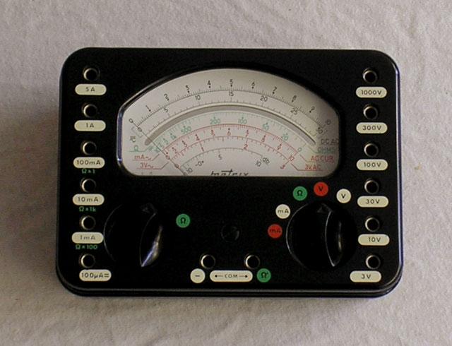 Metrix Frankreich - Multimeter Typ. 462