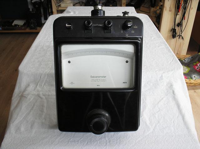 Kopensations Nullgalvanometer von 1951 der Fa. AEG - Berlin