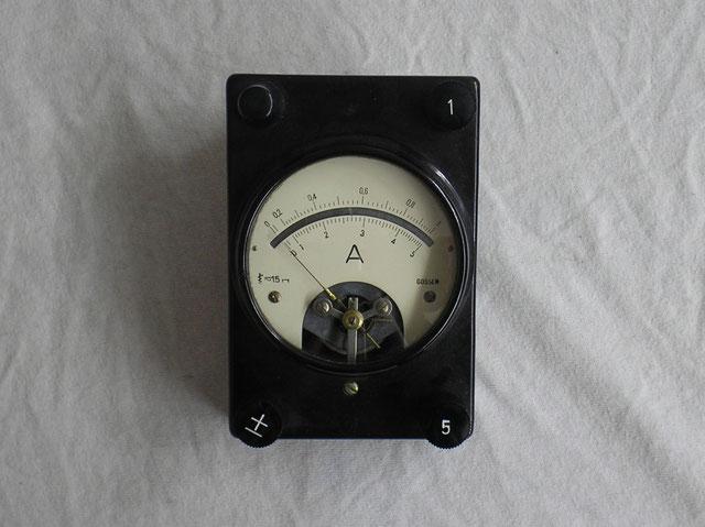 Gossen  Weameter Ampere Meter Wechselstrom