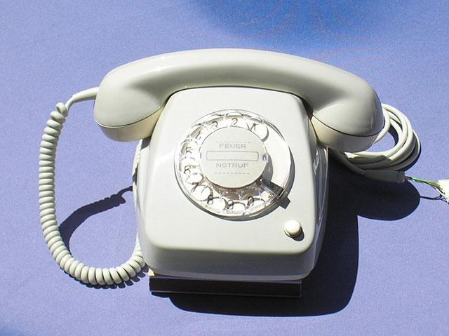 Fernsprechapparat Modell 612 - 2a mit Erdtaste von 1978