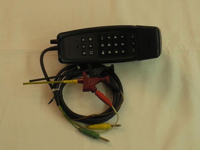 Telefon Prüfhandapparat 90 - Ausführung 4 von 1990