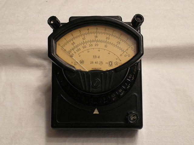 Multimeter Typ. TL - 4 von 1966 - Radio Elektronika - Narod.ru