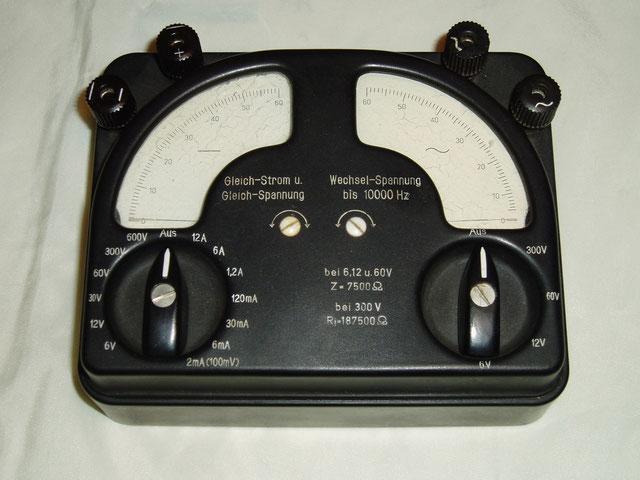 Gossen Labor Multimeter Gleich / Wechselstrom