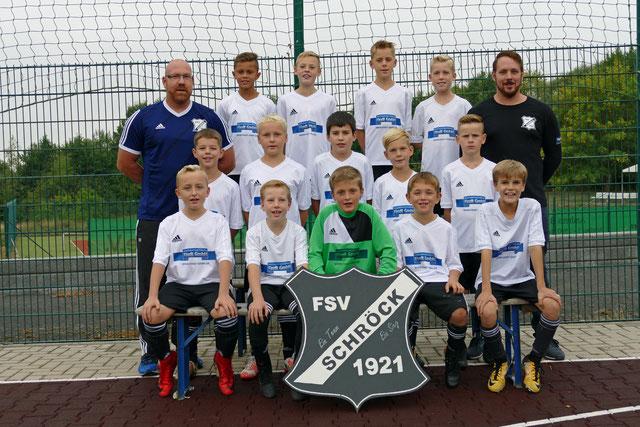 Teamfoto FSV Schröck E- Jugend Saison 2018/ 2019