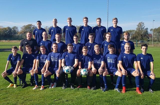 Teamfoto FSV Schröck A- Junioren Saison 2017/ 2018