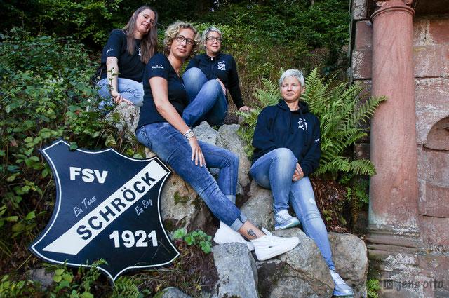 von links: Christine Nahrgang, Melanie Stanger- Otto, Claudia Heintze und Tanja Debelius
