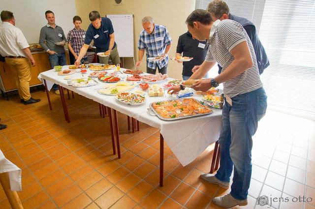 Rund 30 unserer Sponsoren und Partner folgten unserer Einladung zum Frühstück