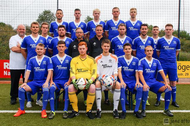 Das Teamfoto unseres Kreisliga A- Marburg Kaders der Saison 2017/ 2018