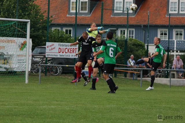 Finalspiel gegen Neustadt