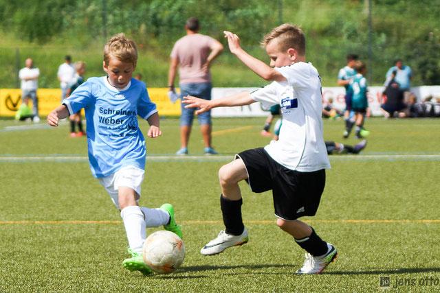 Mit zwei Mannschaften war unser FSV Schröck beim F- Jugendturnier vertreten