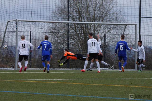 Treffer zum 1:0 durch Hasan Sener.
