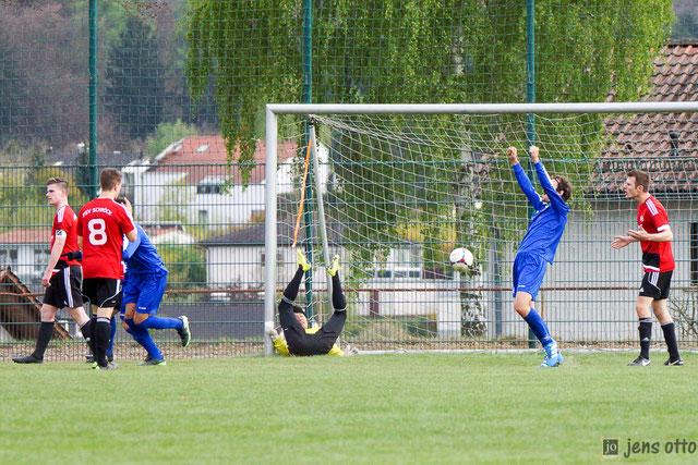 Besiegelte unsere Niederlage, der Treffer zum 4:1 für den FSV Cappel