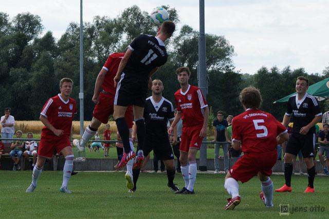 Spiel gegen den VfL Dreihausen