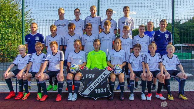 Unsere C- Jugend der Saison 2016/ 2017