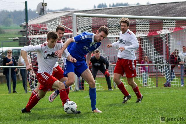 """""""Man of the match"""" Jannik Schneider lochte dreimal gegen den RSV Roßdorf"""