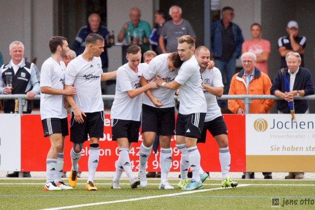 Der Treffer zum 2:0 durch Andreas Schoch in der 74. Minute. Unser FSV gewann mit 3:0