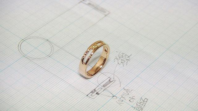 感動の手作り婚約指輪