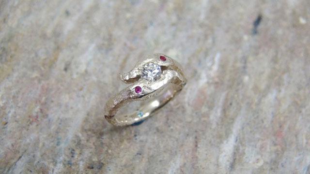 印象深い思い出の婚約指輪