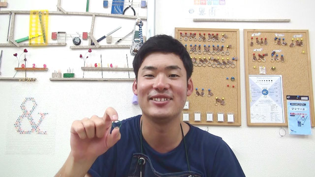 婚約指輪の原型ワックス