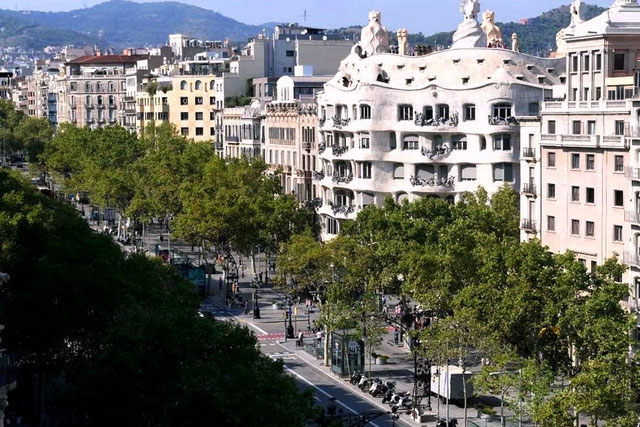 Пасейдж де Грасиа - Барселона