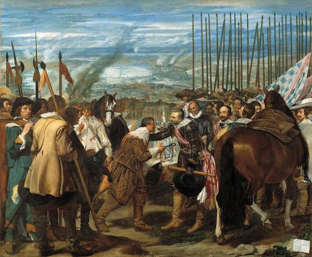 Диего Веласкес. Сдача Бреды. 1635