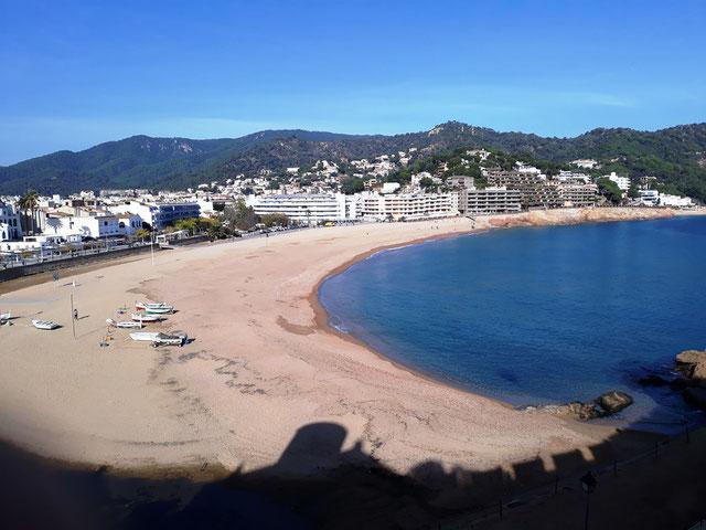 Тосса де Мар - Главный пляж