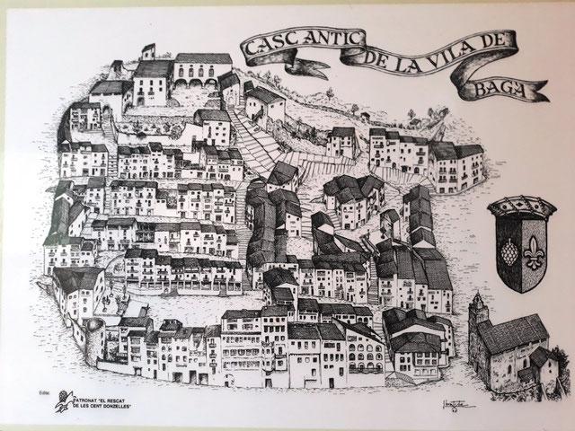 Бага - средневековые городки Каталонии