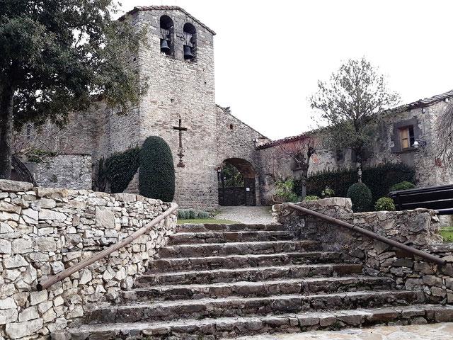 Церковь Святого Христофора - Тавертет, Каталония