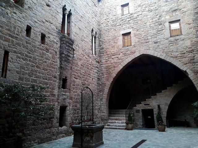 Легенда замка Кардона (Каталония)