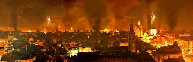 Fallas de Valencia-la Cremà