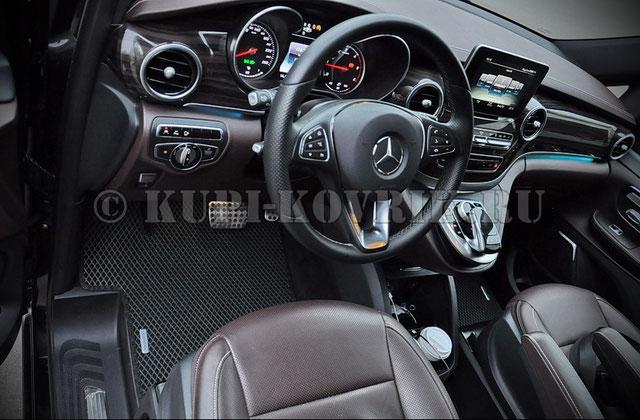 Коврики Mercedes-Benz V-klasse II W447 (2014->)
