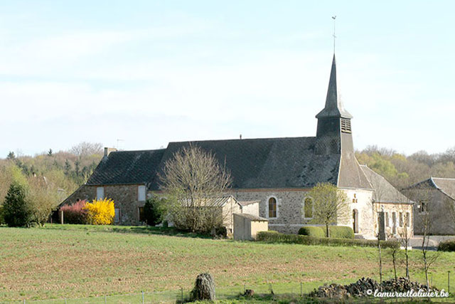 Clocher du village de Brognon