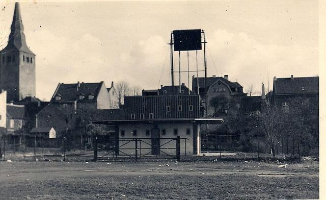 Schießstand 1934. Quelle: Protokollbuch der SSB