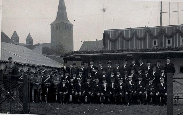 St. Sebastianus Bruderschaft 1484 Erkrath e.V. im Jahr 1934. Quelle: Protokollbuch