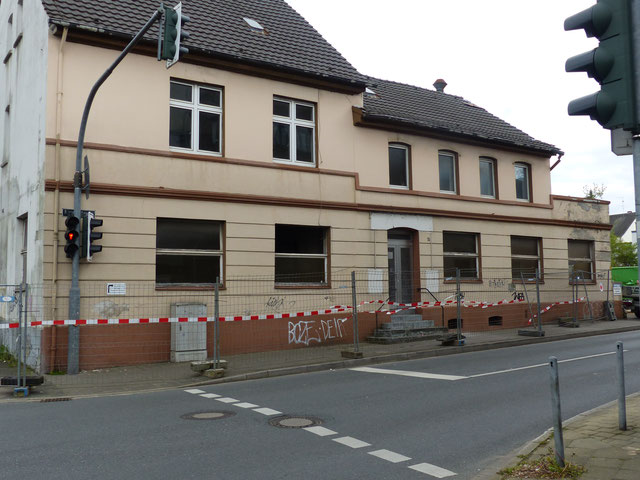 Haus Kreuzstraße 4 vor dem Abriss, Foto: Horst Osmann