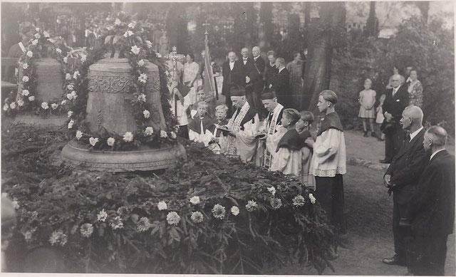 Heimholung der Glocken 1947. Bild: Archiv Margret Becker-Adelskamp