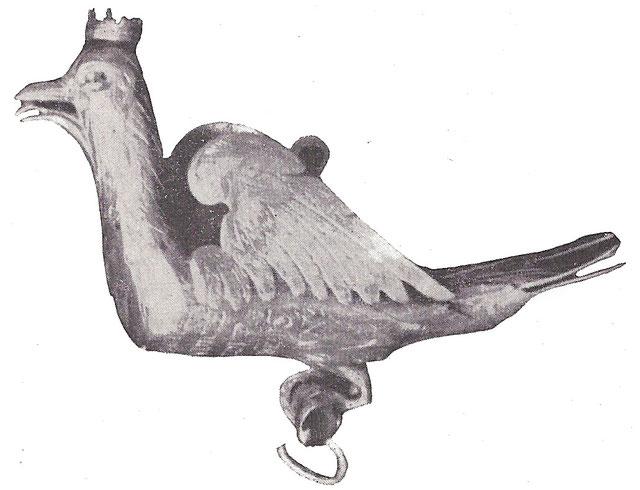 Taubenkette von 1623. Quelle: Festschrift der Bruderschaft von 1959