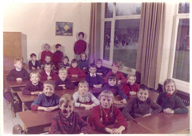 Schulklasse von 1966 Grundschule Bippen