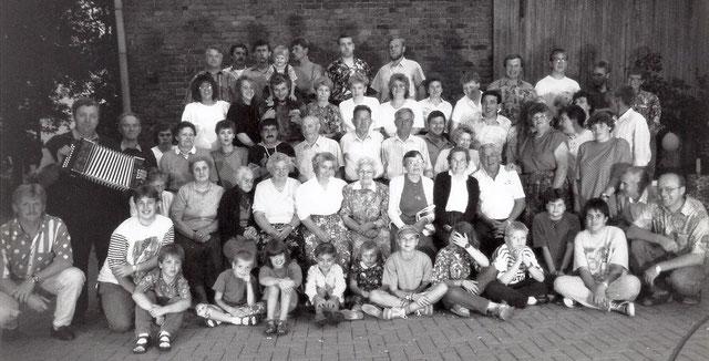 Gruppenfoto Schockländerstraße 1993