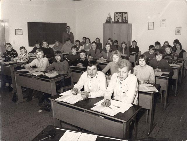 Schulklasse von 1962 Grundschule Bippen