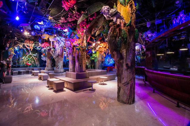"""""""DESPERTARES"""" 250 metros cuadrados de arte hecho en reciclaje y la más grande Instalación Artística que muestra nuestra Colombia exuberante."""