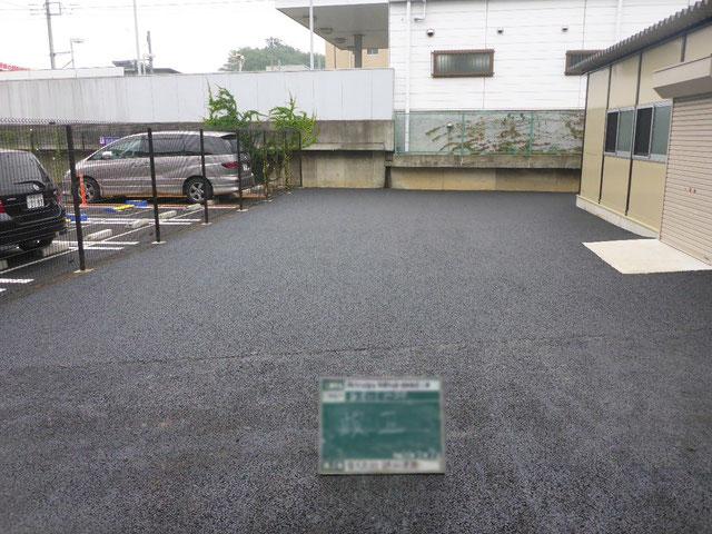 調布市社会福祉協議会多摩川倉庫舗装工事 施工後