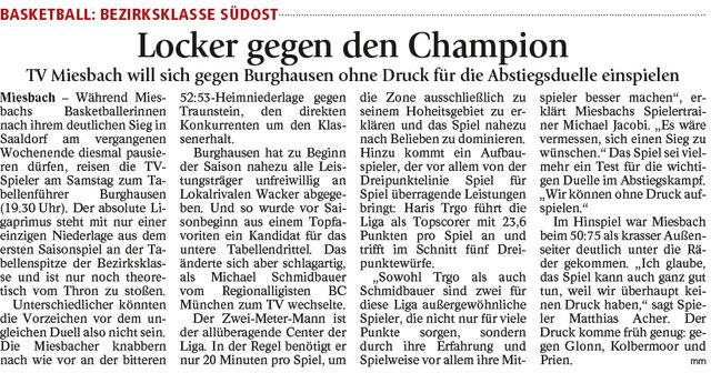 Artikel im Miesbacher Merkur am 3.3.2018 - Zum Vergrößern klicken