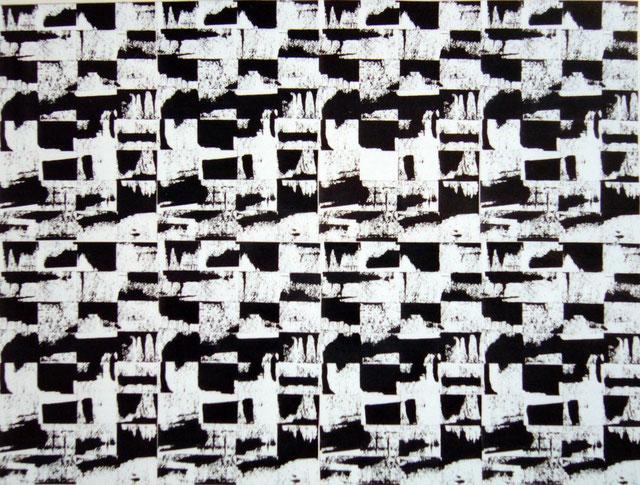 """mat & échecs"" - 60X50 - 2010"