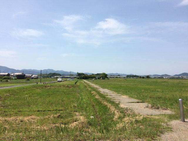 藤原京跡(筆者撮影)
