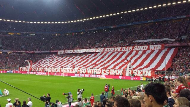 Wir sind ein Fanclub von überwiegend aktiven Fans und sehen unsere Heimat in der Südkurve München.